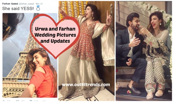 urwa and farhan saeed wedding pictures