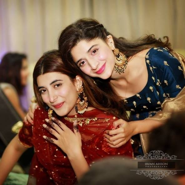 urwa and farhan third dholki