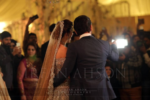 urwa and farhan wedding