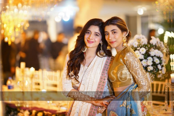 urwa and mawra hocane on qawali night