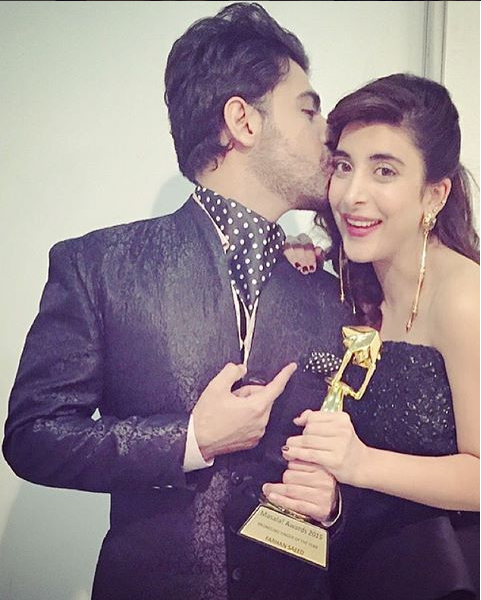 urwa farhan kissing