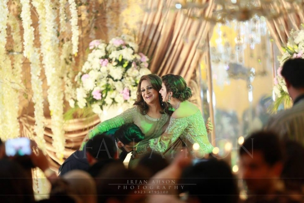 urwa farhan wedding bushra ansari
