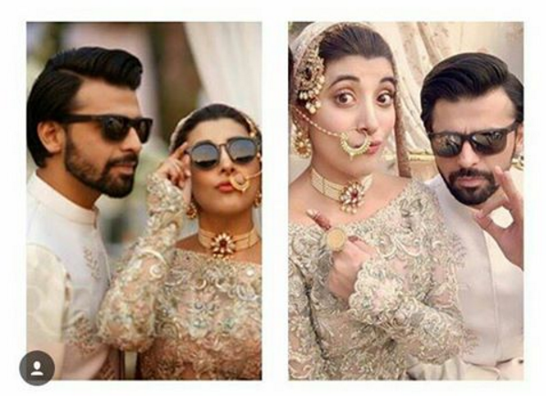 urwa farhan wedding selfies
