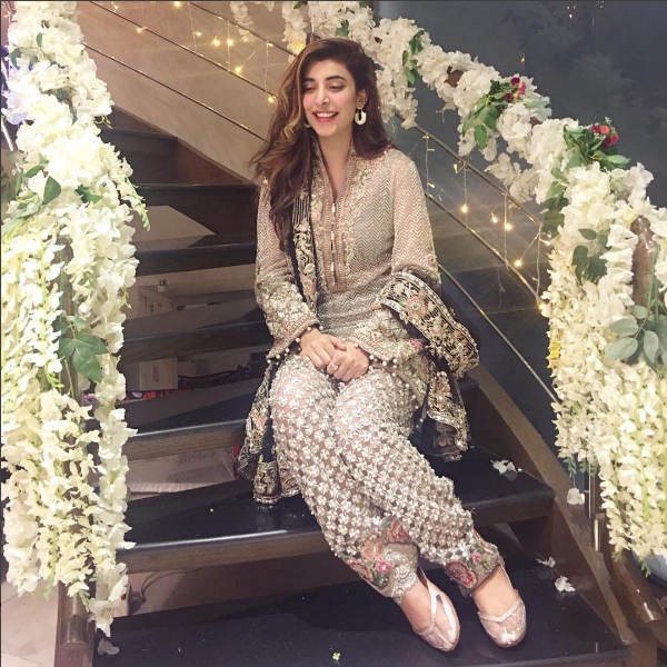 urwa hocane dholki dress