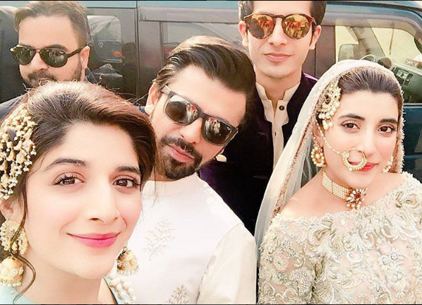 urwa hocane with family on nikkah