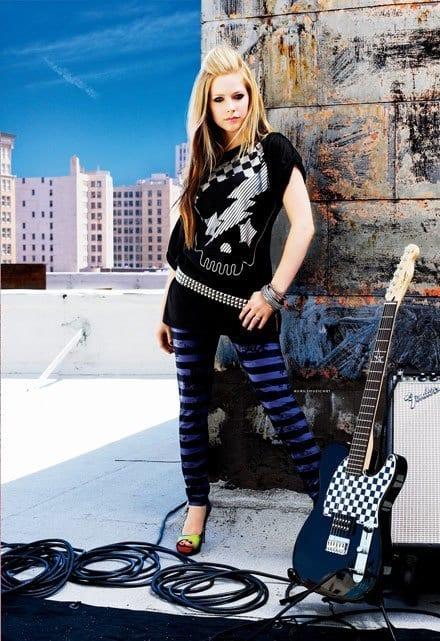Avril Lavigne Crazy Funky Jeans