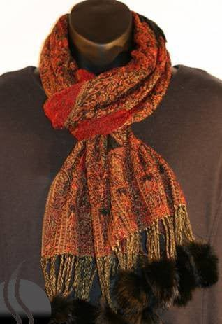 Cool Printed Scarf for Gilrs