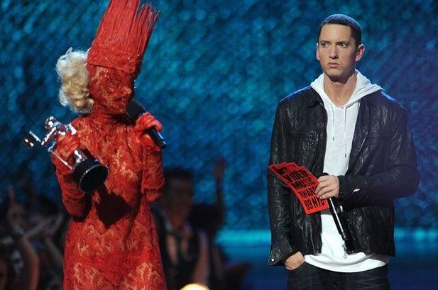 Lady Gaga Grammy Dress