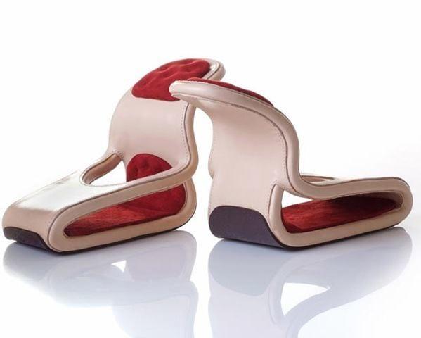 Unique Car seat shoes