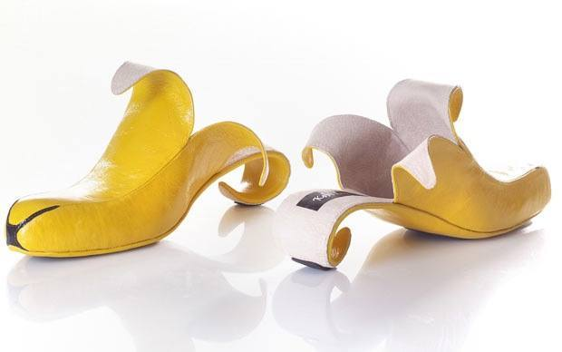 Unique Shoes banana style