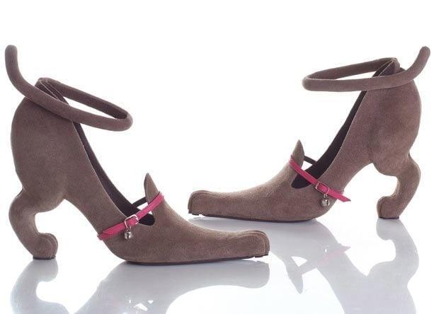 Unique Shoes dog style