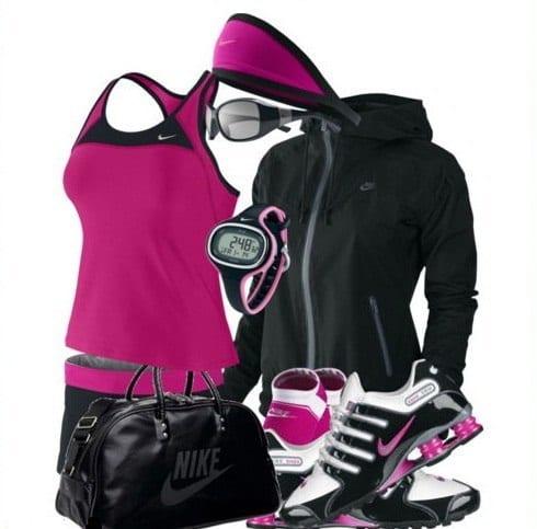 complete nike sports wear for women