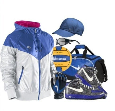 cool nike shoes and bag women