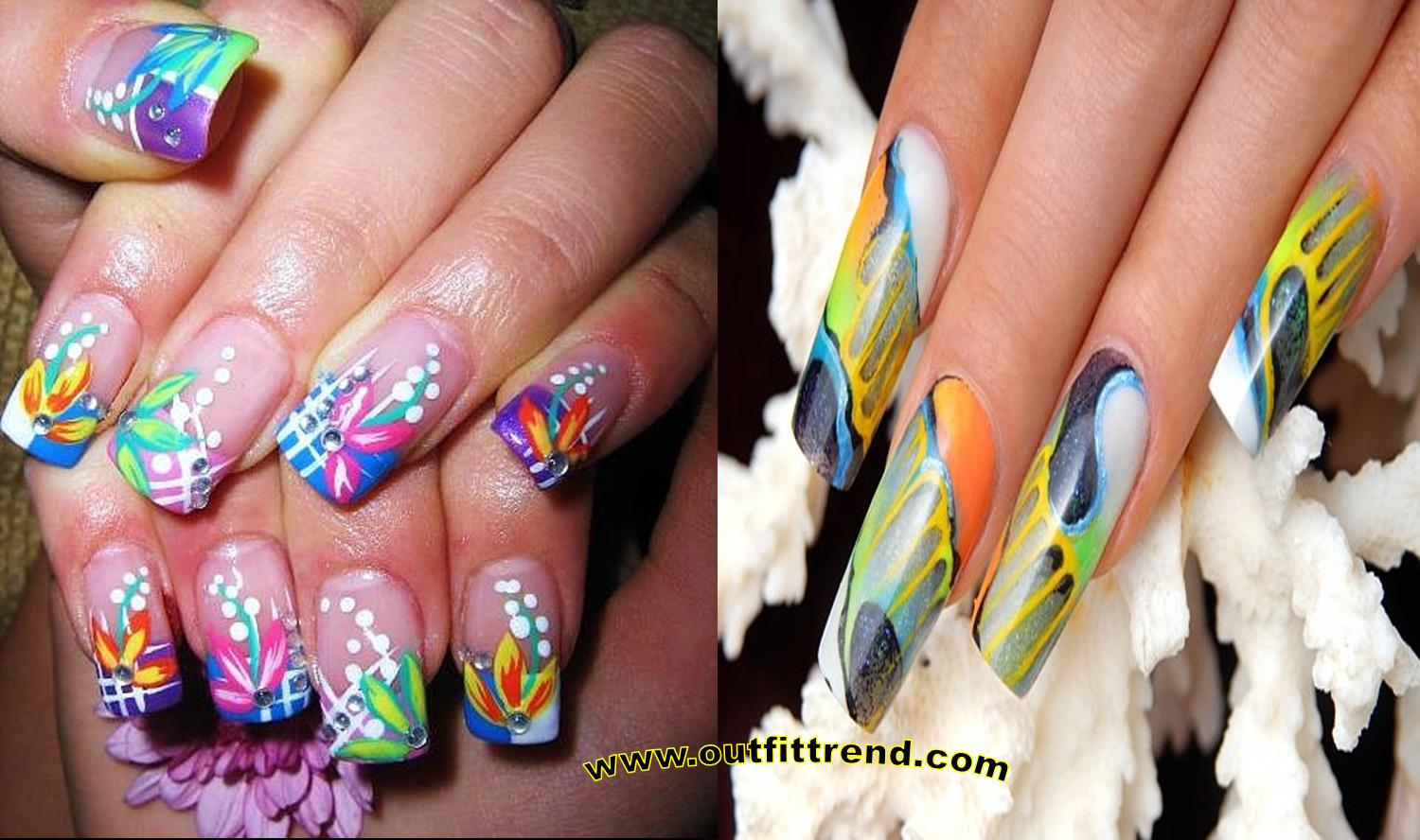Amazing Nail Art For Spring Summer 2018