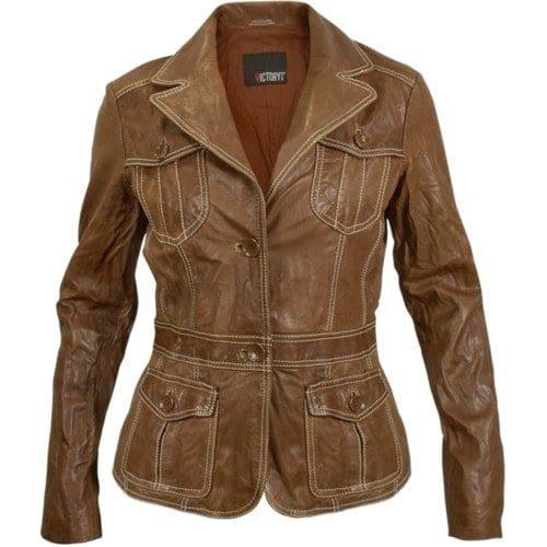 sexy women leather jacket
