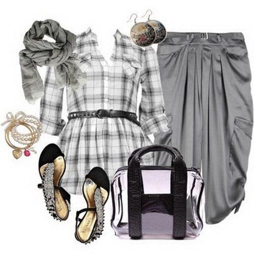 strip shirt outfit ideas