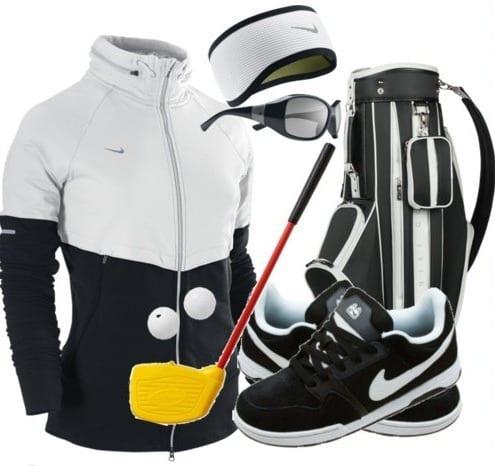 stylish nike shoes and bag