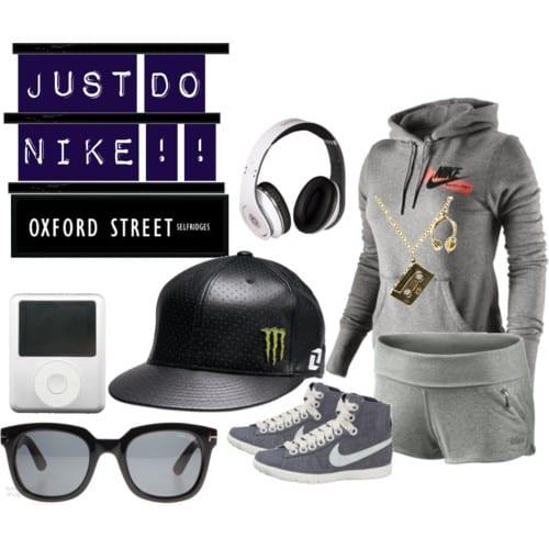 stylish nike women sports wear