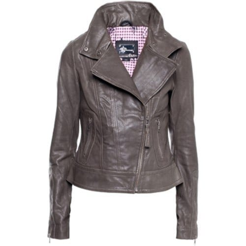 unique leather jacket women