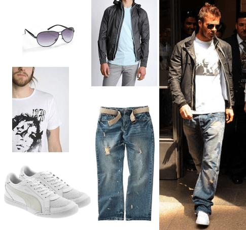 David Beckham Casual Outfits