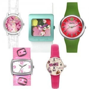 Pink Funky Watches For Girls