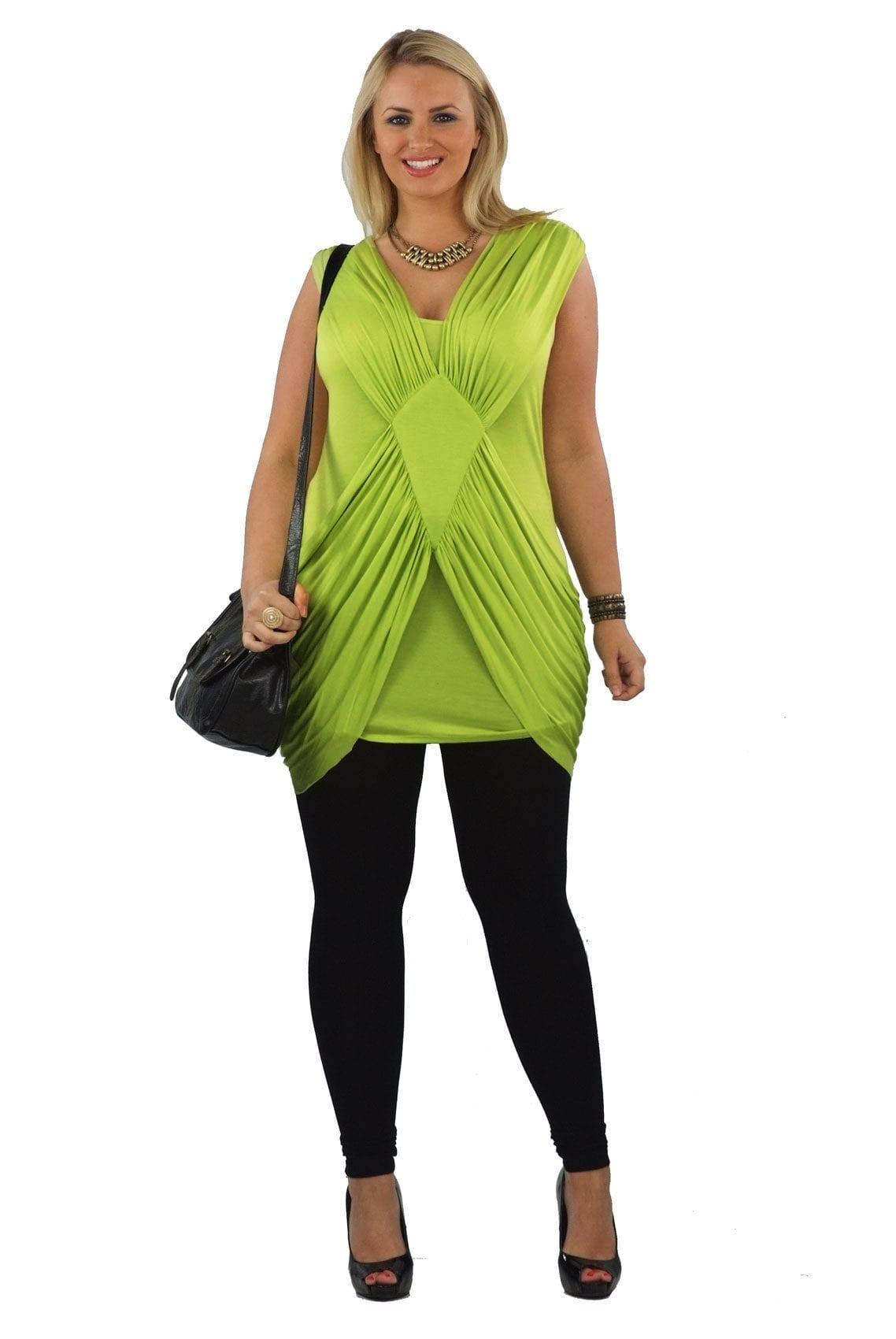 Extra Long Plus Size Tunics To Wear With Leggings