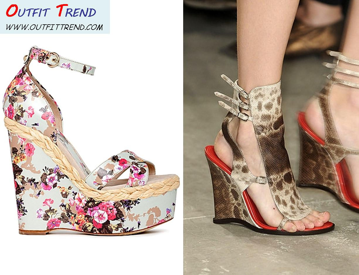 Summer Wedges Shoes For Women