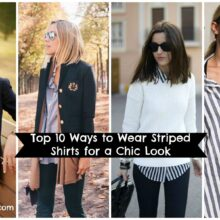 Outfits With Striped Shirts 10 Ways To Wear Striped Shirts