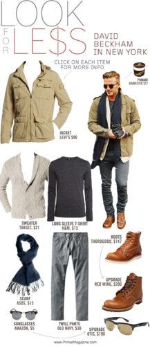 david beckham inspired outfit ideas
