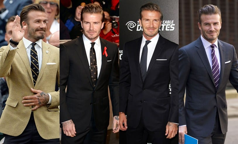 david beckham formal casual outfits