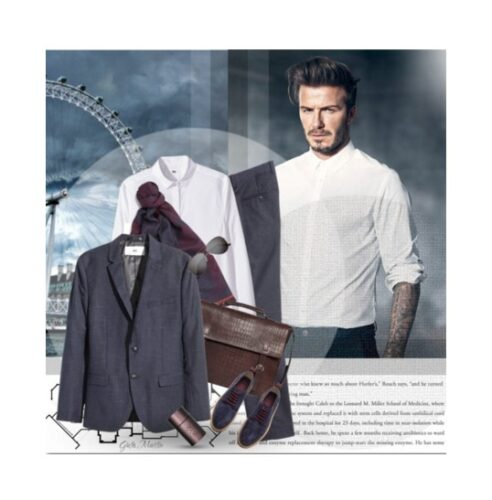 casual outfits by david beckham