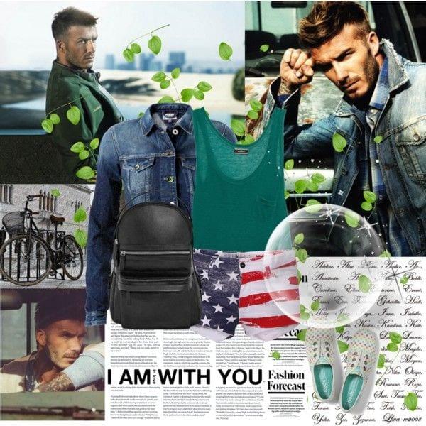 David Beckham style outfit inspiration