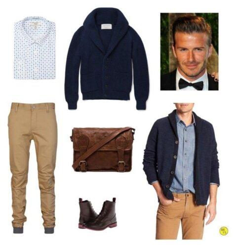 david beckham fashion style