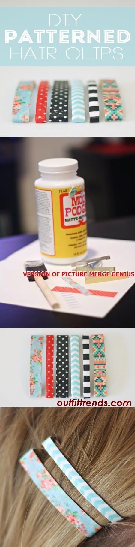 DIY Hair Pin Accessories