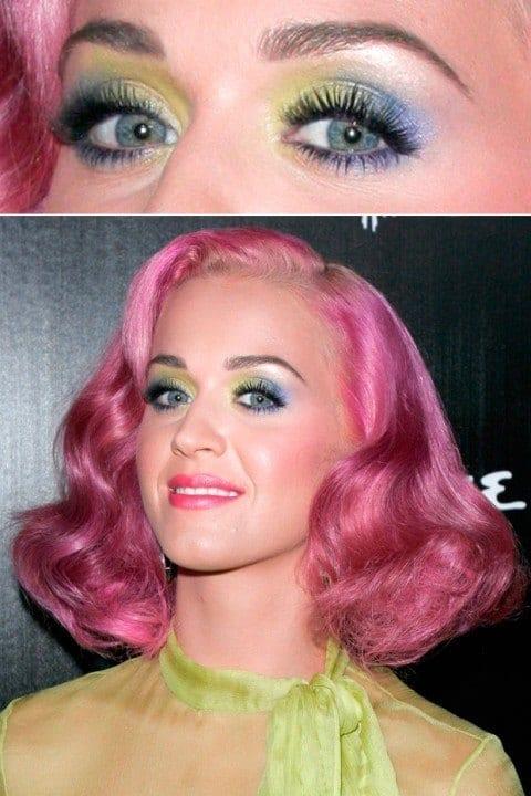 Katy Perry eye make up
