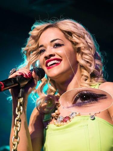 Rita Ora eye makeup