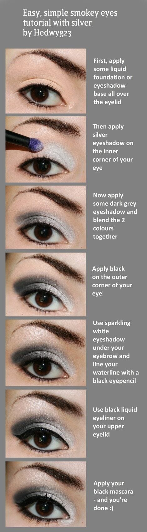 15 easy and stylish eye makeup tutorials – how to wear eye