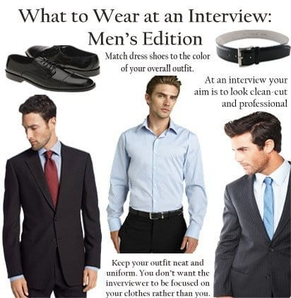 how to dress up for interview