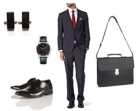 mens job interview outfits