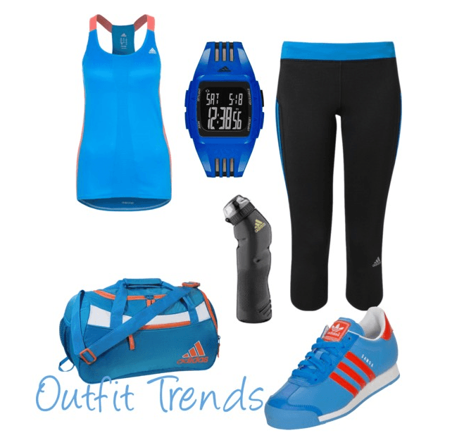 Adidas Ladies Sports outfits