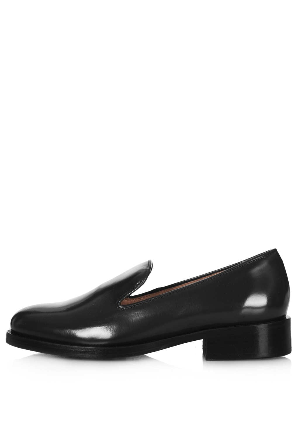 Black flat shoes for girls