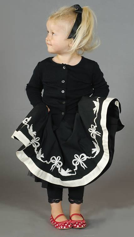 Cool looking baby girl dressing