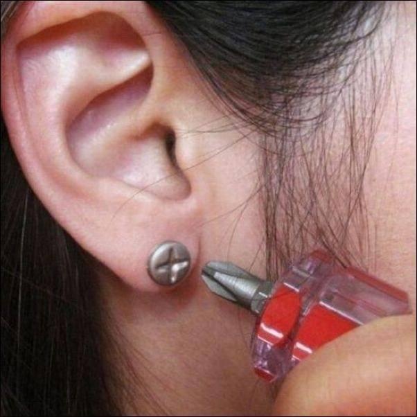 Crazy Earrings