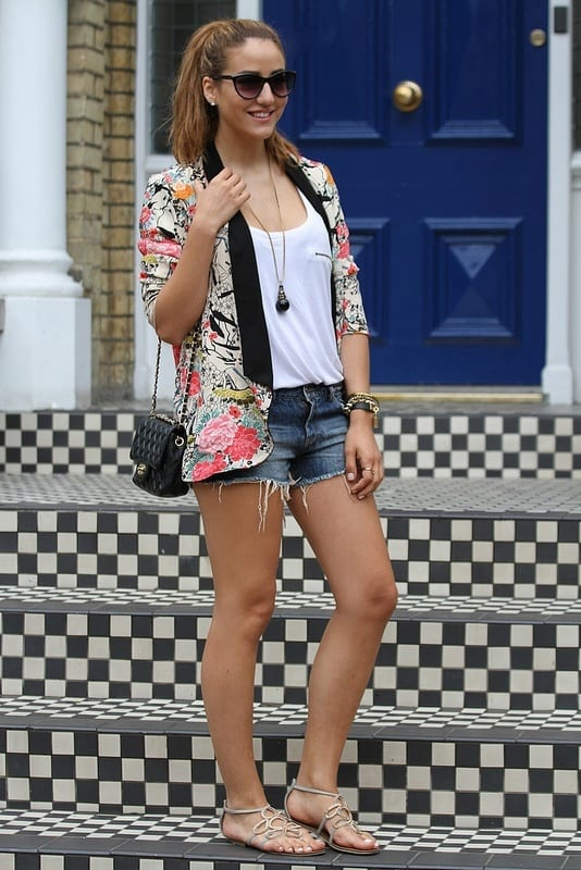 Floral Print Fashion Ideas for girls