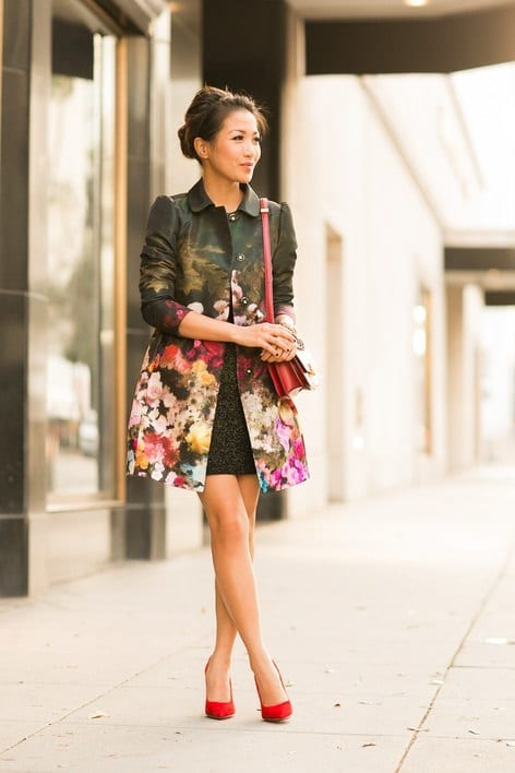 Floral Print Outwear Ideas for women