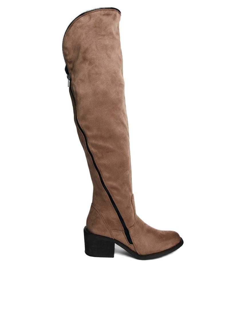 High Knee Boots Trends