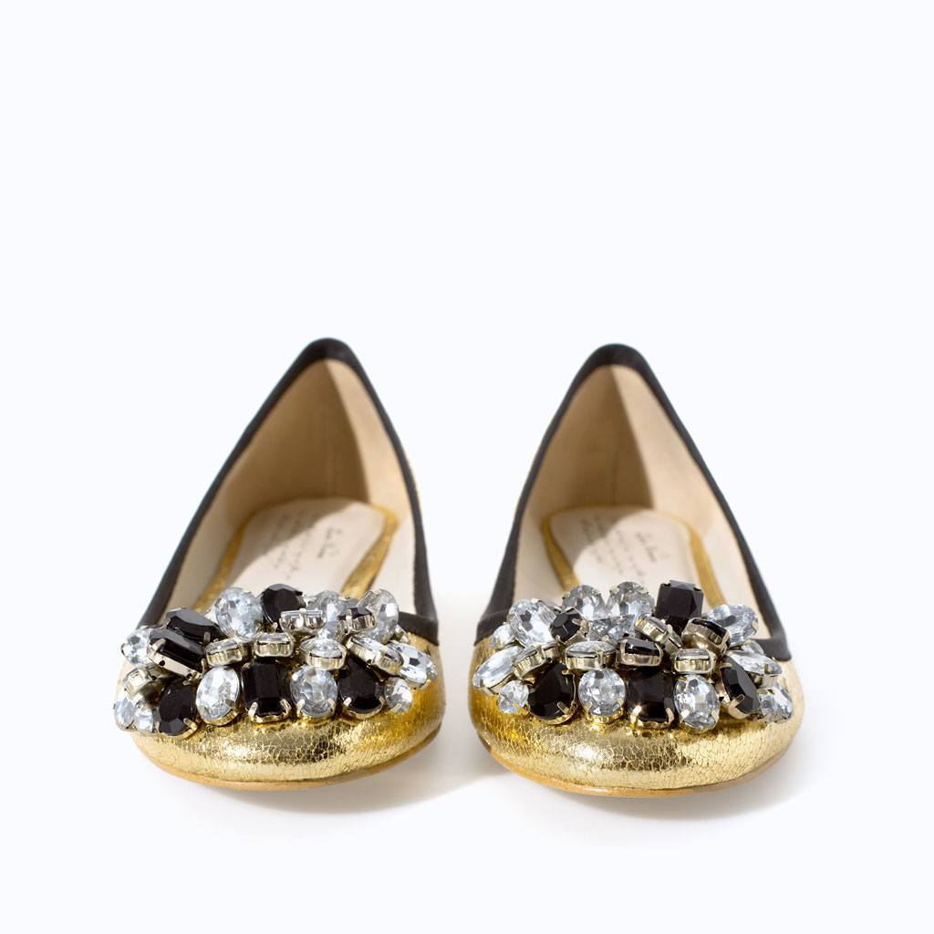 JEWELLED BALLERINA FLATS