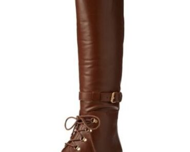 Marc Jacobs Women's Lace Up Tall Flat Boot