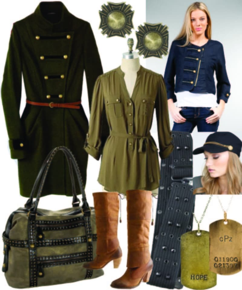 Military Fashion Ideas