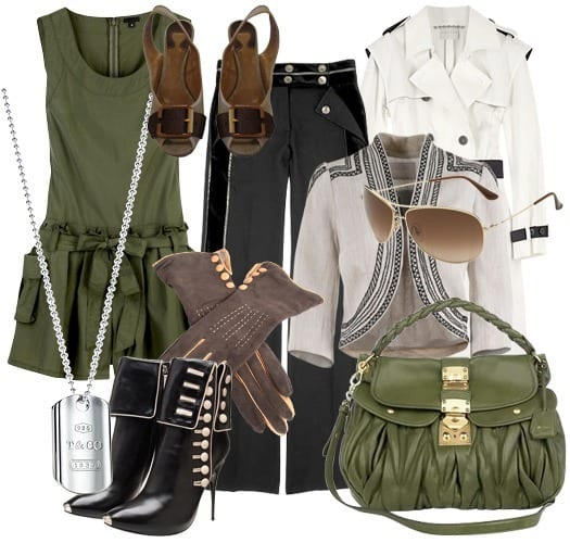 Military outfits for gilrls